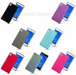 Silicone Slim TPU Gel Back Case Cover For Sony Xperia Z3