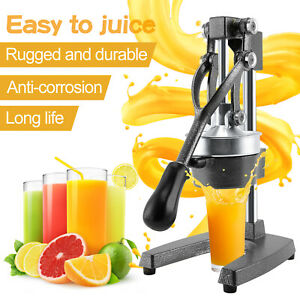 Stainless Steel Manual Juicer Tool Hand Press Squeezer Fruit Extractor Kitchen