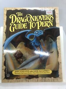 The Dragonlovers Guide to Pern by Anne McCaffrey & Jody Nye (Softcover 1989)