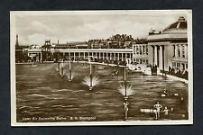View of the Open Air Swimming Baths, Blackpool. Stamp/Postmark - 1933.