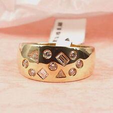 Diamant Echtschmuck mit VS Reinheit Ringgröße 56 (7 mm Ø)