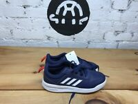 Adidas Boys Tensaur Navy Tennis Shoes
