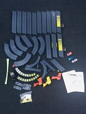Tyco Slot Car Race Track Set Near Collision Crossing Nite Glow W/ Cars & Extras