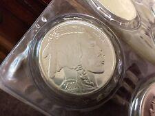 2 ea. American Buffalo 1 oz. .999 Pure Silver Rounds