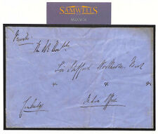 MS1656 Great Britain Signed Cover 1850s ROYALTY *Duke of Cambridge* INDIA OFFICE