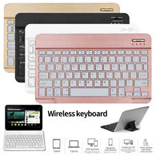 "Slim Universal Wireless Keyboard For iPad Android 7.0"" 8.0"" 10"" 10.1 inch Tablet"
