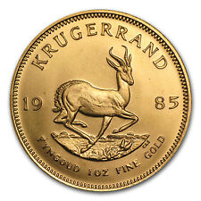 1985 1 oz Gold South African Krugerrand
