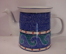 Dansk WAVES Coffee Pot, No Lid MOSAIC DINNERWARE - BEST!