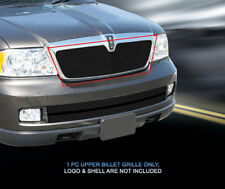 Black Billet Grille Grill Upper  For Lincoln Navigator 2003-2006