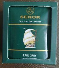SENOK TEA 10 BAGS with TAGS Tea For The Senses EARL GREY
