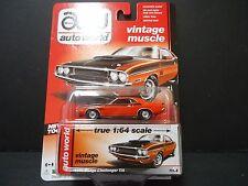 Auto World Dodge Challenger TA 1970 Red 1/64 64032B