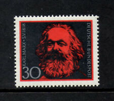 (Ref-5863) Germany 1968 150th Birth Anniv. of Karl Marx   SG.1462   Mint (MNH)