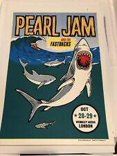 Pearl Jam London 1996 Ames Poster Print