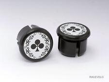 Colnago arabesque Plugs Caps Tapones bouchons lenker vintage style flat New