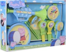 Peppa Pig Musical Instrument Juguetes Playset-Peppa 's Música Banda Niños Juego Conjunto De Juguete