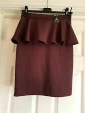 BNWT ATMOSPHERE PURPLE PENCIL SKIRT SIZE 10