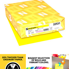 Neenah Wausau Paper 22531 Astrobrights Color Paper 85 X 11 24 Lb 89 Gs