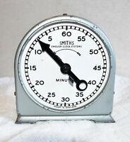 VTG 1950s Smiths Timer Clock~Darkroom/Kitchen~English ClockSystems~Great Britain