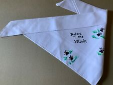 Personalised Dog bandanas.  Individually painted by hand and washable!