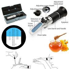 Portable Brix 58-90% Baume Honey Sugar 38 ~ 43 Refractometer Hand-Held Tester