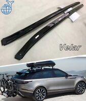 For Land Rover Range Rover Velar 2018-2020Black Roof Rack Cargo Side Rails