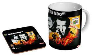 GoldenEye N64 - Coffee / Tea Mug And Coaster Gift Set