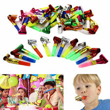 20 x Children Kids Birthday Party Blowers Whistle Blowout Party Jazzy Toy Gift