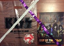 KISS END OF THE ROAD WORLD TOUR BOOK PROGRAM 2019 STREAMERS CONFETTI BAG V3