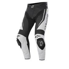 Pantalons blancs pour motocyclette
