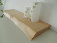 Wandboard Ahorn Massiv Holz Board Regal Steckboard Regalbrett Brett Baumkante