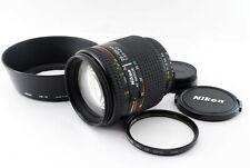 Nikon AF Nikkor 28-105mm F3.5-4.5D w/ Lens hood HB-18 From Japan #738495