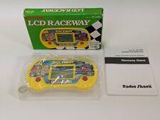 Vintage Raceway Radio Shack LCD Hand Held Electronic Game & Watch Handheld Retro