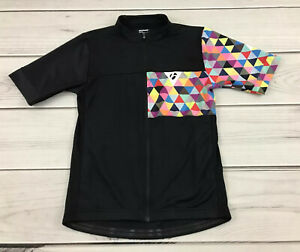 Bontrager Profila Women's S Fitted Full Zip Cycling Jersey Geometric Multicolor