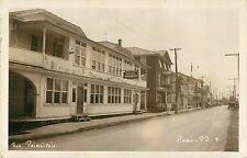 Rue Principale, Hotel Gagnon, Amqui PQ Quebec Canada RPPC 1949