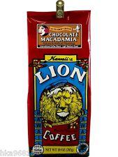 Chocolate Macadamia 10 oz ground Lion Coffee Hawaii