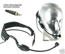 Great Quality Headset Mic Headband Gooseneck Boom for Sennheiser Wireless G3 G2