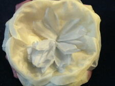 Millinery Flower Velvet Yum! Real Silk Y79B Blue Mauve