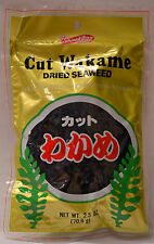 Shirakiku Cut Wakame Dried Seaweed usable for Salad Soup Noodle - US Seller