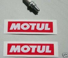 "Pair  of  MOTUL  sticker decal 5"""