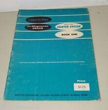 Magnavox Organ Pointer System Vintage Sheet  Music 15772 Book 1  One Instruction