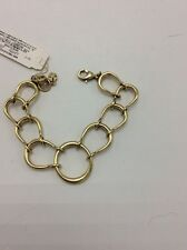 Hoop Link Bracelet Lbb11 $35 Lucky Brand Gold Tone