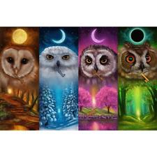 5D Diy Owl Diamond Painting Full Drill Home Decor Embroidery Cross Stitch