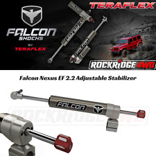 "Falcon Nexus EF 2.2 Adjustable Steering Stabilizer Jeep Wrangler JK w/ 1-5/8"" TR"