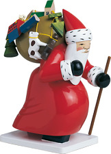 Wendt & Kuhn German Christmas Wooden Figurines Large Santa Claus with Toys