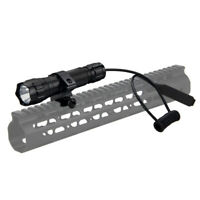 Tactical 5000LM T6 LED Flashlight Torch Lamp Gun Hunting Light 20mm Rail Mount