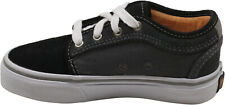 Vans Youth Boys Chukka Low Sneakers Black/Charcoal/Orange 11 New