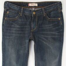 Ladies Womens Levis 572 BOOTCUT Stretch Blue Jeans W30 L34 UK Size 10