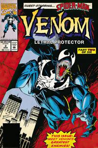 Venom - Marvel Comic Poster / Print (Comic Cover / Lethal Protector)