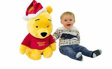 LARGE CHRISTMAS WINNIE-THE-POOH FESTIVE SOFT PLUSH TOY - NEW OFFICIAL PRODUCT