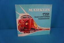 Marklin 3070 NS SBB TEE Diesel Train Set Edelweiss Express version 1 Red-Ivory